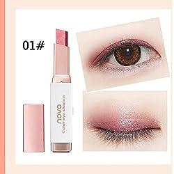 Generic Earth&matte Waterproof smash box Makeup Beauty Two tone gradual change Eyeshadow stick Comestics