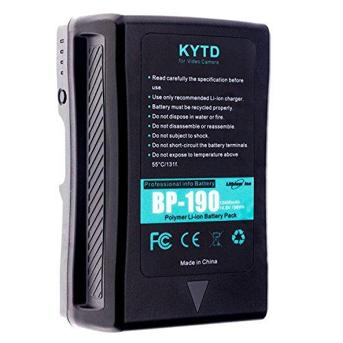 Kytd 190 WH 13400 mAh 14.4 V V Mount V Lock batería