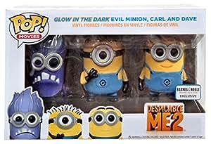 Funko - Pack 3 Figurines Moi Moche et Méchant - Les Minions Pop 10cm - 0849803036966