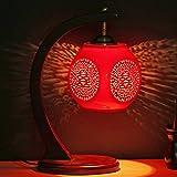 Jingdezhen Keramik China kreative Schlafzimmer Nachttischlampe rote Lampe chinesische Hochzeit Geschenk retro Tischlampen