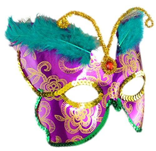 Halloweenia - Erwachsenen Schmetterling Deluxe Karneval Faschingsmaske Venezianische Maske, (Twilight Kostüme Schmetterling)