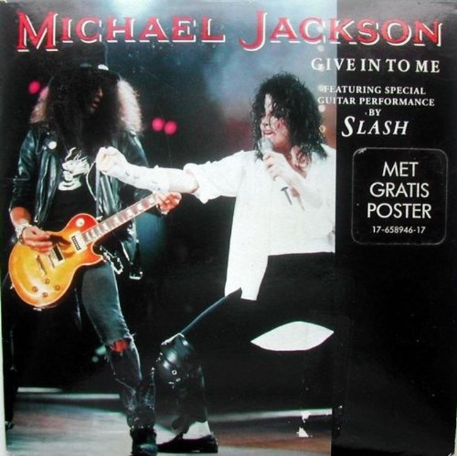 Give in to me 2-track CARD SLEEVE 1) Vocal version 2) Dirty diana edit CDSINGLE