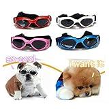 S UV Sonnenbrille Hundebrille Sonnenschutz Brille für Haustier Hunde Dog