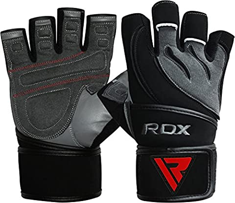 RDX Gym Fitness Gewichtheben Handschuhe Herren Bodybuilding Workout Sports Trainingshandschuhe,
