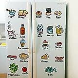 Adesivi decorativi, impermeabili, ideali per armadi da cucina, frigorifero, pareti in vetro e piastrelle in ceramica