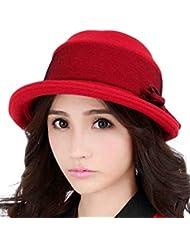 Korean Loisirs Ludique Automne Hiver Topper Hat Lady (deux couleurs en option)