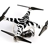 Ake Drone Body Skin Decals Shell Waterproof Sticker Kit for DJI Phantom 2 Vision - 6001