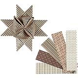 Papierstreifen für Fröbelsterne, B: 40 mm, D: 18 cm, Oslo, 40sort., L: 100 cm