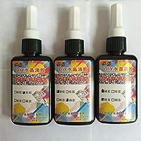 Xuniu Resina UV Epoxi Joyería DIY Realización Transparente Suave Solidificación Artesanía 50ml