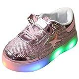 Highdas Jungen Mädchen Prewalker Light Schuhe Rosa EU 21
