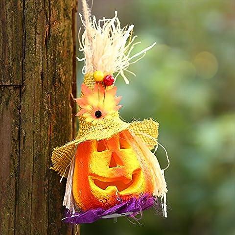 Kürbis Lichter Jack-o '-lantern Halloween Licht Vogelscheuche Kürbis Lampe Dekorative Licht für Halloween KTV Bar Dekor