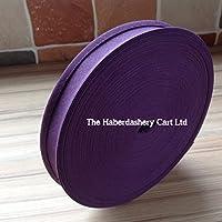 Cinta para bies púrpura, 25 mm de ancho, 5 metros