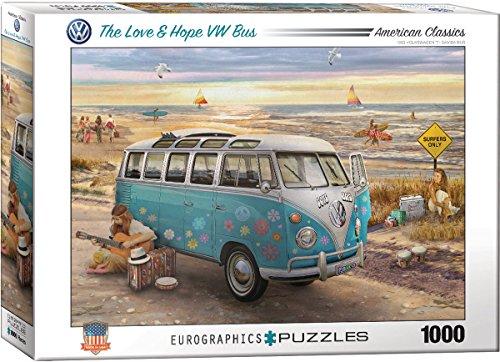 Eurographics 6000?5310die Liebe und Hoffnung VW Bus Puzzle (1000Teile) Preisvergleich