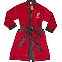 Liverpool FC Mens Licensed Dressing Gown Adults Robe
