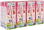 Lacnor Essentials Stwawberry Milk - 180 ml x 8