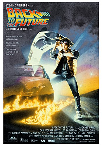 Póster Back to the Future/Regreso al Futuro (68,5cm x 101,5cm)