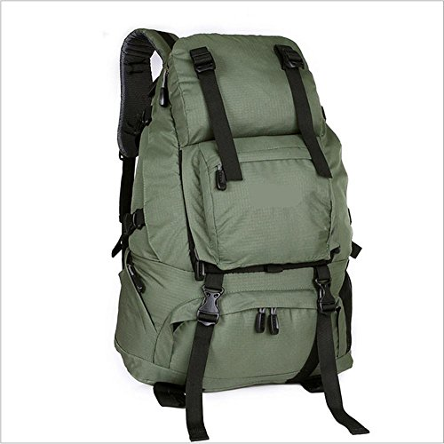 Xiuxiandianju Zaino outdoor borsa 40L arrampicata zaino , green shallow army green