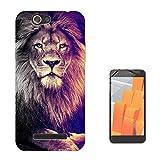 003296 - Lion king of animals photo Design Wileyfox Spark X