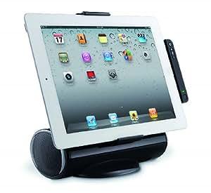 Logitech Halterung/Lautsprecher inkl. Fernbedienung schwarz (für iPad, iPad 2 und iPad 3. Generation, Tablets)