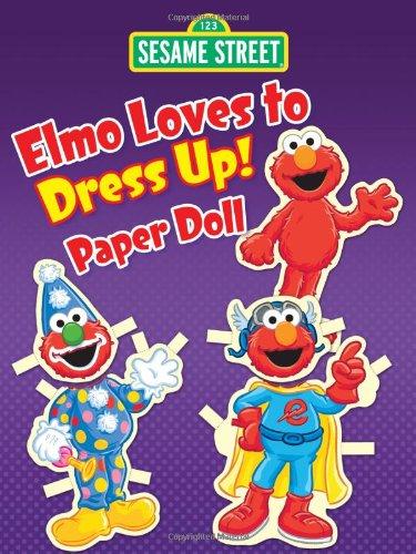 Up! Paper Doll (Sesame Street Paper Doll) (Sesame Street Dress Up)