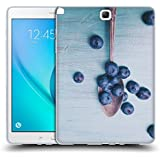 Official Olivia Joy StClaire Blueberries On The Table Soft Gel Case for Samsung Galaxy Tab A 9.7
