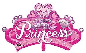 """Amscan International-3457101""""Princesa corona y Gem Super forma globo en forma de"""""""