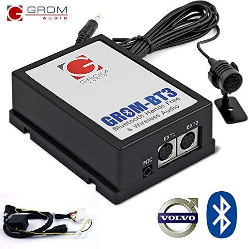 GROM Audio BT3 Integrierte Bluetooth Car Kit für 01+ Volvo S40 V40 S60 S70 V70 S80 XC70 mit HU-Radio 2002 Radio Ipod