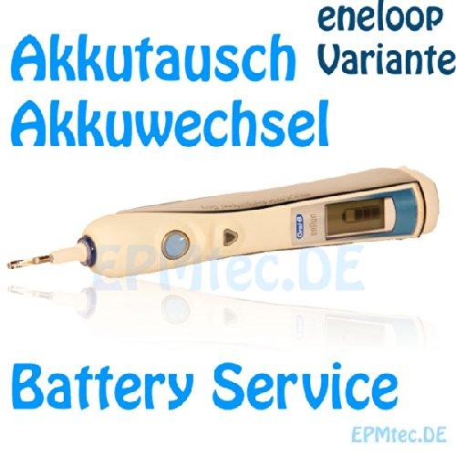 Akkutauschservice Premium - für alle OralB Triumph 4000 5000 7000 8000 8300 8500 8900 9000 9500 9900 - Batterie Battery Akku