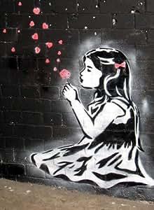 imagenation kunstdruck vom britischen graffiti. Black Bedroom Furniture Sets. Home Design Ideas