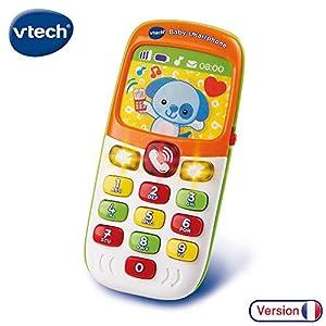 VTech Baby Smartphone bilingue Juguete para el Aprendizaje - Juguetes para el Aprendizaje (AAA, 6 Mes(es), 45 mm, 130 mm, 190 mm, 240 g)