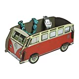 VW Campervan T1 Handybox Red Medium - Officially Licensed by Volkswagen