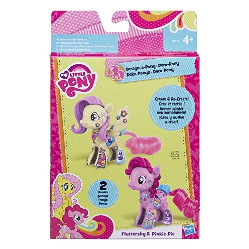 My Little Pony Pop Fluttershy & Pinkie Pie Design-A-Pony ()