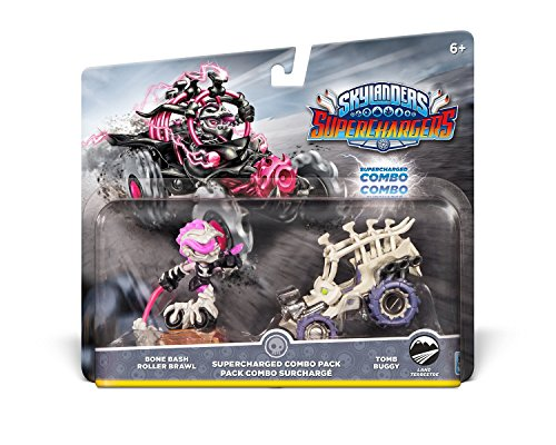 Skylanders SuperChargers Dual Pack #4: Bone Bash Roller Brawl and Tomb Buggy - Ps3 Skylanders Figuren