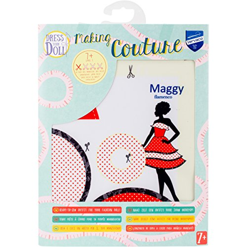 Dress Your Doll Making Couture Outfit Set-Maggy ()