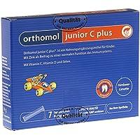 Preisvergleich für Orthomol junior C plus 7er Kinder Direktgranulat, Himbeer-Limette - Vitamine & Spurenelemente für das Immunsystem