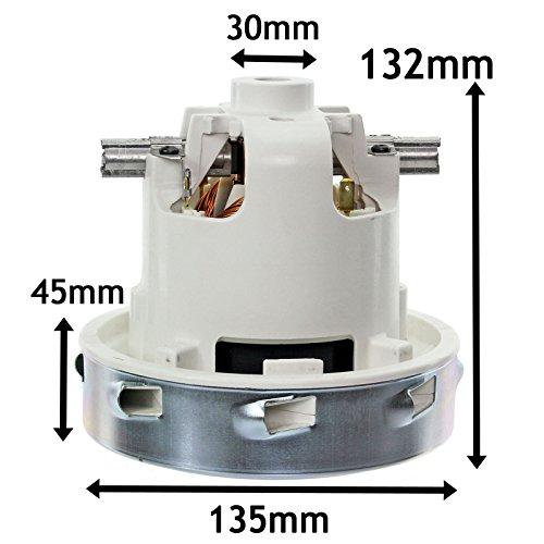 Genuine Original Lamb Ametek 1300W 1 Single Stage Wet & Dry Vacuum Cleaner Motor (240V)