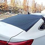 Biback Magnetico lunotto Snow Cover, Blocco di Ghiaccio da Parabrezza Auto Neve e ombrellone Protector, Ghiaccio, Polvere, Sole, Neve, Fallen Leaves.