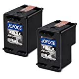 Jofoce Remanufacturéd HP 301XL 301 cartouches d'encre (2 Noir), Compatible avec HP Deskjet 2540 1510 3050A 3055A 1050A 2050 3000 2544 2542 1514 2050A, Officejet 4630 4634, Envy 4500 5530 5532 5534 Imprimante