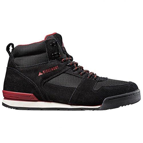 Ridgemont Monty Hi Boots Black Burgandy