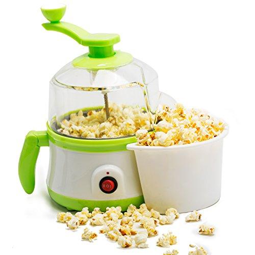Popcornmaschine mit Zucker,B1 Multifunktion Popcornmaker für Popcorn Gekochten Eiern Spiegeleier
