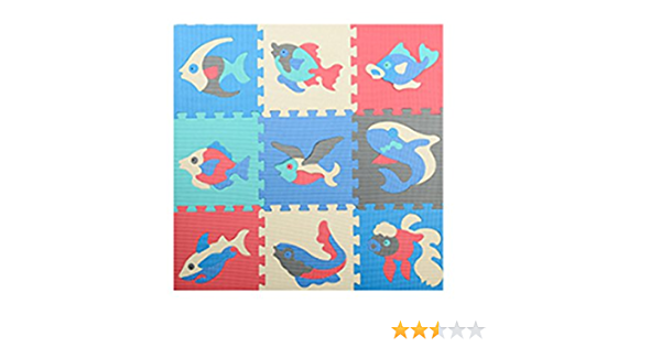 WKZWY Tapis Puzzle Dalle Mousse B/éb/é Moquette Rampante Lavable Antid/érapant Anti-Chute Utilis/é for Chambre Salon Color : A, Size : 60X60X2.0cm - 4pcs 60X60X2.0cm