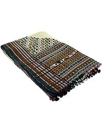 brodé châles indienne Cadeaux vêtements de laine de mariage des femmes de 84 x 36 pouces