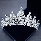 Best Plumas de marea - XPY&DGX bride boda Prom horquillas tocado,Princesa Crown Tiara Review