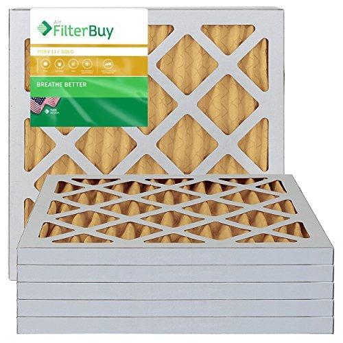 x 18x 1Plissee AC Ofen Air Filter. 6Stück Filter. 100% in den USA hergestellt. ()