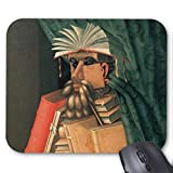 The Librarian Mouse Pad 18×22 cm