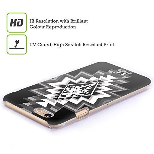 Head Case Designs Rasta Teschi Navajo Cover Retro Rigida per Apple iPhone 7 Plus / 8 Plus Grigio