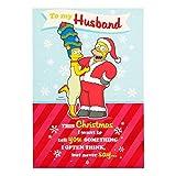 Hallmark The Simpsons Weihnachtskarte, englische Aufschrift