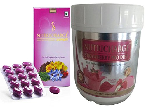Nutricharge Strawberry Pro Diet For Women (30 Tablets)