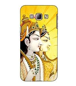 Fuson Designer Back Case Cover for Samsung Galaxy A8 (2015) :: Samsung Galaxy A8 Duos (2015) :: Samsung Galaxy A8 A800F A800Y (Jai Sri Ram theme)
