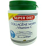 SUPER DIET Collagène Marin et Vitamine C Bio Os et Cartilage - 180 comprimés